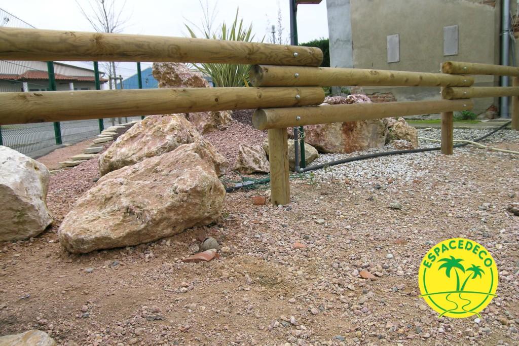 Espacedéco réalise vos clôtures en bois en Haute Garonne sur les communes de Toulouse, Tournefeuille, Balma, Cugnaux.