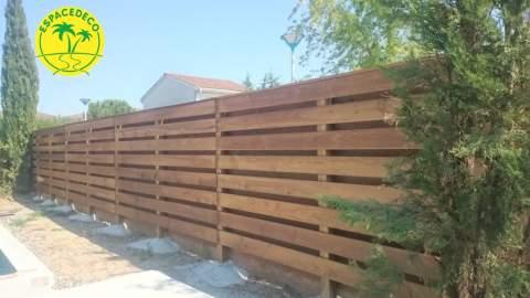 clôture sur mesure Espacedeco