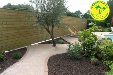 Exigez un extérieur de qualité à Cugnaux en Haute-Garonne. maçonnerie, dallage, clôture