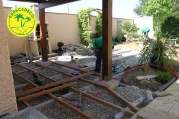 2-Vos terrasses en bois réalisées sur mesure par Espacedéco à Colomiers.