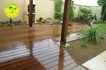 3-Pour vos aménagements extérieurs, la pose de surface minéralisée, faites appel à la compétence des paysagistes / décorateurs Espacedéco.